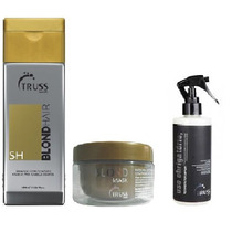 Kit Truss Blond Hair Shampoo + Mascara + Uso Obrigatorio