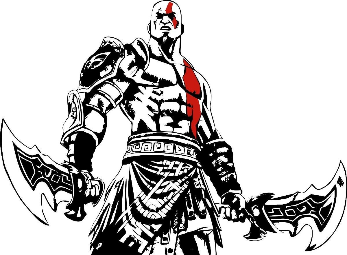 god of war coloring pages - photo#6