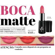 Batom Matte Fórmula Hidratante Yes Cosmetics