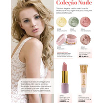 Batom, Sombra, Iluminador Linha Nude Yes Cosmetics