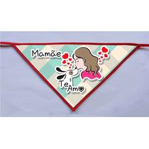 Kit 50 Bandanas- Dia Das Mães- Cães, Pet Shop, Banho E Tosa
