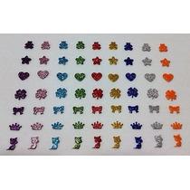 1000 Adesivos Eva Com Glitter Pet Shop Banho E Tosa