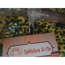 100 Botões Infantis Sortidos Copa Laços Pet, Gravatas, Cão