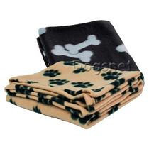Cobertor P/ Cães - 100 X 70 Cm Fleece - Importado