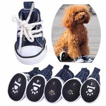 Sapatenis Sapato Pet Cães All Star Tenis P/ Cachorro Tam Pp