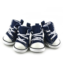 Sapato Tênis Para Cachorro Tipo All Star Jeans Tm 05 Gg Xl