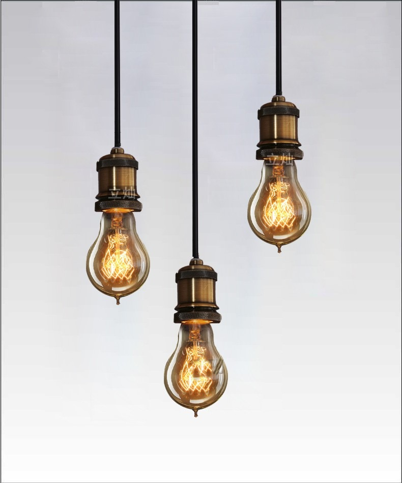 lampada retro vintage industrial estilo e27 40w 110v