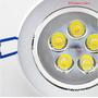 Kit Spot Super Led Direcionável 5w Para Instalar No Teto