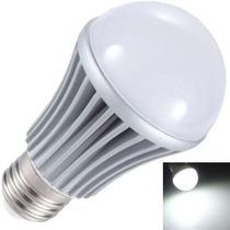 Lâmpada Super Led 7w Bulbo Branco Puro Soquete E27 Bi-volt