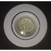 Kit Spot Direcionável+lampada Dicroica Gu-10 1wats Led Sanca
