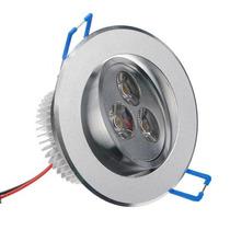 Kit Spot Super Led Direcionável 3w Alumínio Sanca Gesso