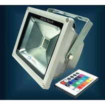 Refletor - Holofote Led Rgb 10w Bi-volts 110-220v