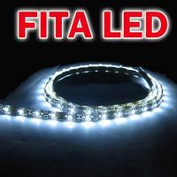 Fita De Led 30cm 18 Leds Silicone Proteção P/ Agua Ultra Luz