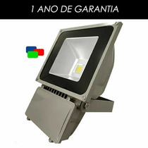 Refletor De Led - Azul 100w - Ip65