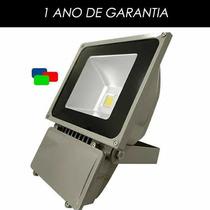 Refletor De Led - Vermelho 100w - Ip65