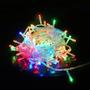 Pisca Pisca Led 100 Lamp 8 Funções Colorido 127v 9m