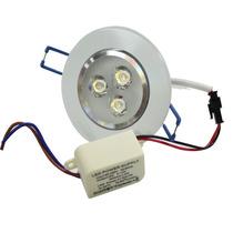 Kit 20 Lampada Dicroica Spot Super Led 3w C/ 3 Led 1w Cada