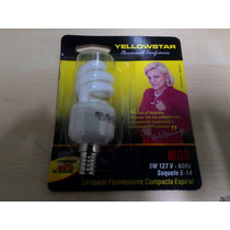 Lampada Compacta Espiral 5w E14 127 9w - Yellowstar