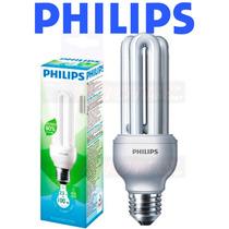 12 Lâmpadas Philips Eletrônica Fluorescente 23w Branca 220v