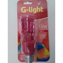 Lampada Espiral 15w 220v Vermelha G-light