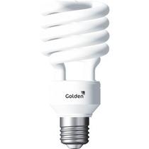 Kit 5 Lampadas Fluorescente Espiral 20w 220v - Golden