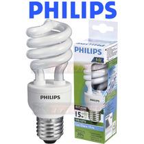 Kit 12 Lâmpadas Philips Espiral Eletrônica 15w Branca 127v