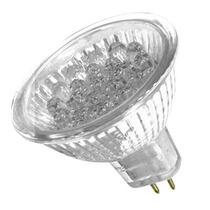 Lampada Led Dicroica Mr16 18 Led 1w 220v Braco Frio