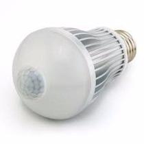 Lâmpada Led Bulbo 5w Sensor De Presença Interno 80% Econômic