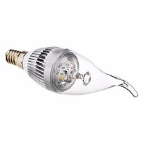 Kit 8 Led Lampada Vela E14 (2 Branco Quente + 6 Branco Frio)