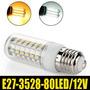 Lampada De Led E27 12v 600 Lumens - Luz Branca 6000k