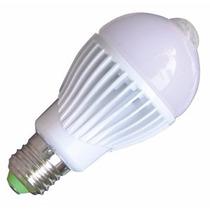Lâmpada Led E27 5w Sensor De Presença Interno 80% Econômica