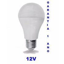 Lampada Led 12v 10w E-27 Energia Solar (pronta Entrega)