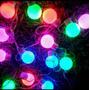 Cordão De Luz / Luzinhas De Led Com Bolinhas Coloridas.