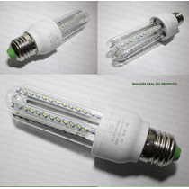 Kit 10 Lâmpada Led 7w Super Econômica Branca 6000k E27 Bivol