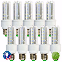 Kit 10 Lampada Super Led 7w 100% Original Com 90% Econômia