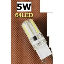 Kit 10 Lâmpadas Led G9 Bipino 5 Watts 110v Luz Branco Frio