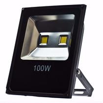 Kit 2 Refletor Led Holofote 100w Branco Frio