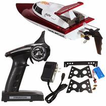 Lancha Controle Remoto Racing Ft007 4ch 2.4ghz- Frete Grátis