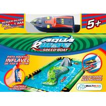 Aqua Racer Lancha E Pista Inflável Multikids Mania Virtual