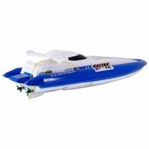 Lancha De Controle Remoto - Speed Boat 13cm