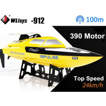 Lancha Boat Wltoys Wl912 Radio 2.4ghz High Speed Racing Rtr