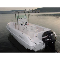 Lancha Sea Crest Fishing 215 Evinrude E-tech 115 Hp Dpl 2016
