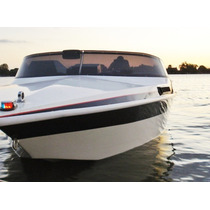 Lancha De Fibra Master Marine Com Motor Diesel Semi Nova