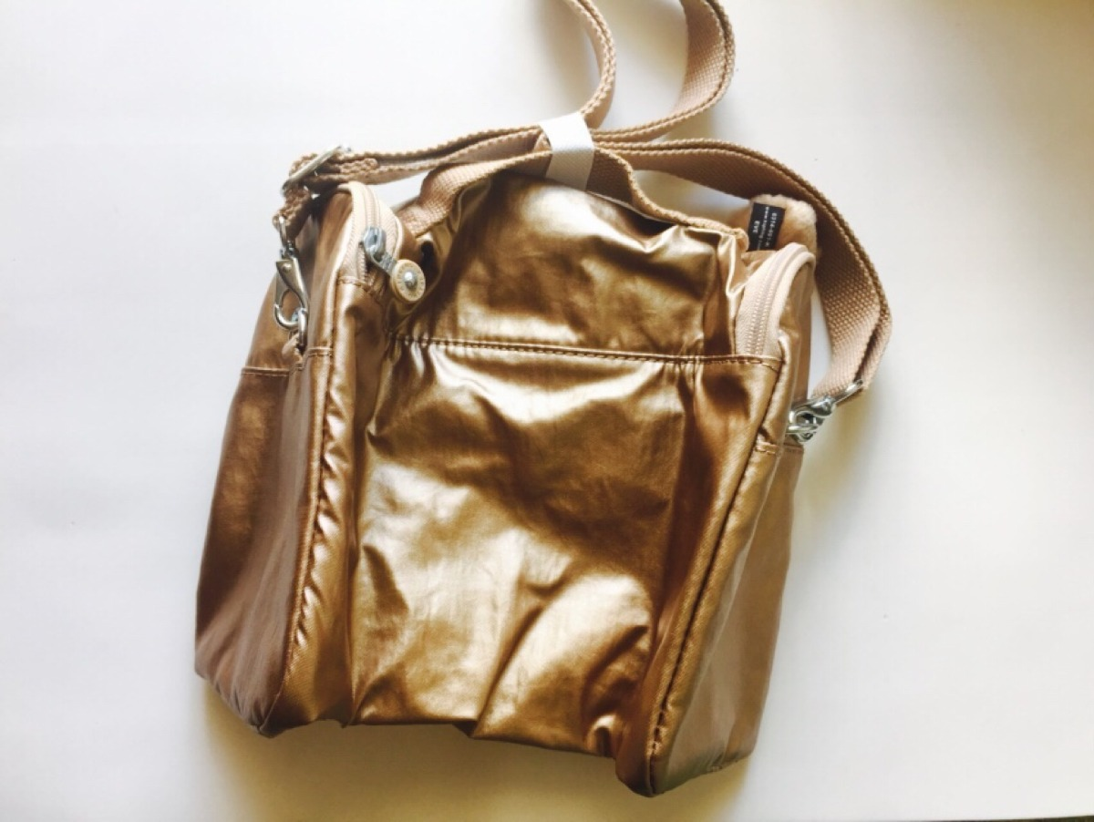 Bolsa Dourada Da Kipling : Lancheira bolsa termica kipling original dourada r