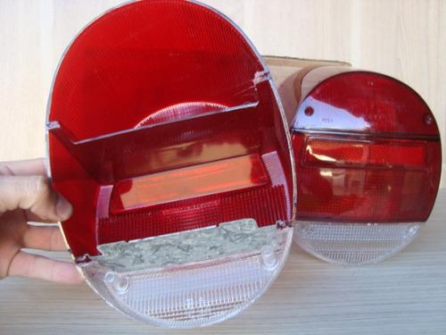 Lanterna Traseira Fusca Fafa Novo Original Acrilico Fume