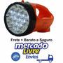 Lanterna Holofote Recarregavel 19 Super Leds Bivolt 110/220v