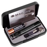 Mini Lanterna Maglite Led Solitaire Preta 1aaa, Lançamento