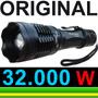 Lanterna Police Tática 32000w 96000 Lumens Led Recarregável