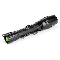 Lanterna Tática Led T6 Police Recarregável Potente 2 Bateria