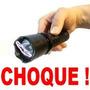 Lanterna Teser Choque 1000kv Led Longo Alcance